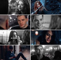 Shadowhunters Tv Series, Shadowhunters The Mortal Instruments, Mortal Instruments Memes, Shadow Hunters Book, Shadowhunter Quotes, Clary E Jace, Freeform Tv Shows, Fandom Quotes, Vampire Diaries Memes