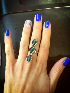 azul Ideas Manicure Azul Sparkle For 2019 Ideas Manicure Azul Sparkle For 2019 to Colorful Nail Designs, Cute Nail Designs, Hair And Nails, My Nails, Nails 2017, Shellac Nails, Nail Polish Colors, Manicure And Pedicure, Nails Inspiration