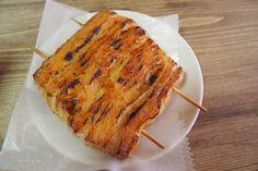 新小岩のパン屋「サンメリー」で、『クロワッサンかば焼き風』が売られている