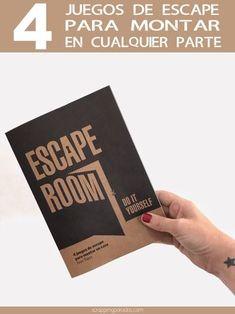 Do it yourself: 4 juegos de escape para montar en casa Escape room. Do it yourself: 4 juegos de escape para montar en casa