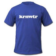 KRNWTR t-shirt - BLAUW voor heren
