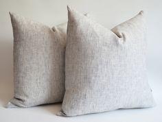 Love: Linen Cushions.