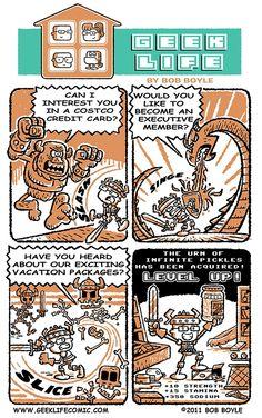 Costco comic