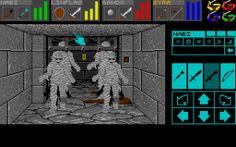 Dungeon Master for Atari ST.