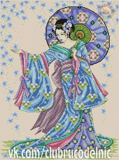 Blue Geisha 1/6