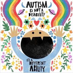Beautiful Illustration by Juliana Perdomo. Autism Awareness Quotes, Autism Quotes, Autism Awareness Month, Disability Awareness, Quotes About Autism, World Autism Day, Understanding Autism, Occupational Therapy Activities, Home
