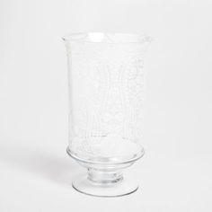 Stemmed vase with botanical transfer - Vases - Decoration | Zara Home Turkey