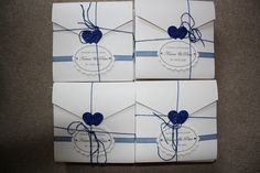 'Heart Envelope Collection' in royal blue Heart Envelope, Royal Blue, Stationery, Wedding Inspiration, Hair Accessories, Gift Wrapping, Collection, Gift Wrapping Paper, Paper Mill