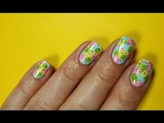 New Easter Nails, nail art tutorial #simple #nails #tutorial #pastels #nailart - bellashoot.com