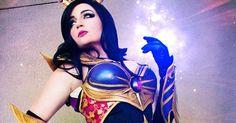 Ecstatic Female Wizard (Diablo III) Cosplay by Windofthestars