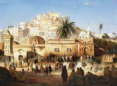 Algérie -  La Mosquée La Maçolla Porte Bab El OuedAlger. Avant  1830