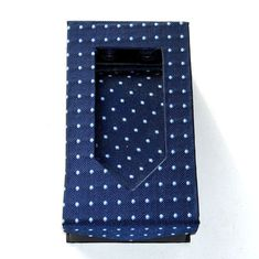 Blue Tie Handkerchief Cufflinks Boxed Father's Day Gift Set