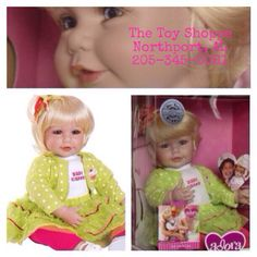 Adora Doll Baby Cakes. She's seriously so cute.   $108.99