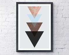 Poster Torre Triângulos