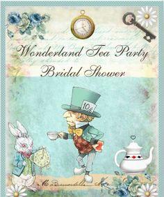 Valentines Day invitations / Vintage style Valentine tea party ...