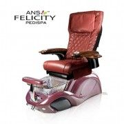Felicity Spa Pedicure Chair - This stylish pedicure spa is acetone-resistant and includes a protective gel-coating that guards the spa Spa Pedicure Chairs, Pedicure Spa, Spa Chair, Massage Chair, Nail Salon Furniture, Purse Hanger, Drain Pump, Glass Sink, Shower Hose