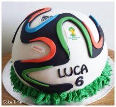 Brazuca Ball Cake World Cup 2014