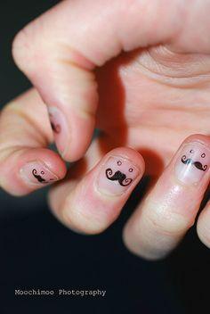 mustache : )
