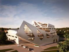 Luneburg University's Libeskind Building / Daniel Libeskind,Courtesy of Daniel Libeskind