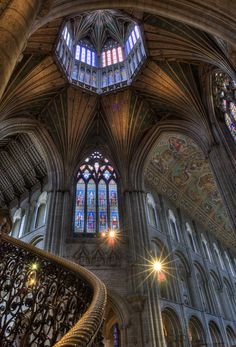 Architecture - Places of Worship Edifices -Ely Cathedral, Cambridgeshire Church Architecture, Beautiful Architecture, Beautiful Buildings, Architecture Details, Beautiful Places, Ely Cathedral, Architecture Classique, Old Churches, Jolie Photo