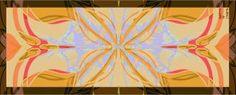 Nuala Quinn-Barton Traditional Yellow Floral Design on Silk