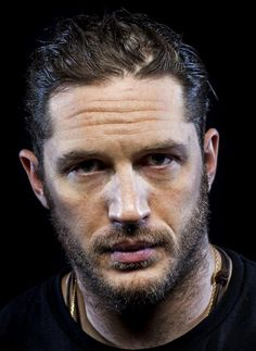 Another portrait of Tom Hardy by Jay L. Clendenin.
