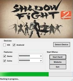 We are glad to announce our new hack tool developed by team. Shadow Fighter 2 is a awesome game for iOS and Android devices.We created for you Shadow Fighter 2 Hack Cheats , one of the best hack tools created by our team. This Hack Tool is very fast and Cheat Engine, Android Features, Game Resources, Ios, Android Hacks, Free Gems, Mobile Legends, Hack Online, Shopping