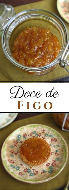 To take advantage of the seasonal fruit nothing like preparing a delicious fig jam. It's easy to prepare and ideal for lunch or small snacks. Serve with crackers. Jam Recipes, Sweet Recipes, Real Food Recipes, Yummy Food, Apple Jam, Fig Jam, Feel Good Food, Recipe From Scratch, Fruit In Season