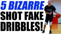 af72cf575b35 5 UNUSUAL Shot Fake Dribbles That BREAK ANKLES! Basketball MovesShots