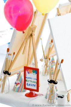decoracion fiesta infantil artistas