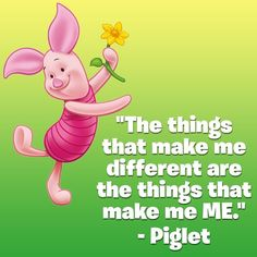 Some words of wisdom from our little friend Piglet #WednesdayWisdom #Piglet #WinnieThePooh #Wisdom #Inspiring #BeYourself #Quote #Quotes #Toystagram #HeyLetsPlay #toystagram #Smyths #SmythsToys #SmythsToysSuperstores #Cute #wednesday