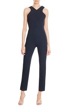 Jumpsuit with Cut-Out Detail  from ROLAND MOURET | Luxury fashion online | STYLEBOP.com