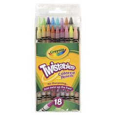 Crayola Crayola Twistables 18 Colors
