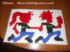 Insane Clown Posse, Cross Stitch, Rugs, Projects, Home Decor, Crossstitch, Log Projects, Homemade Home Decor, Types Of Rugs