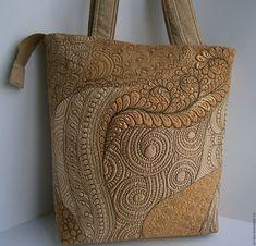 Купить сумка лоскутная стеганая Лето - бежевый, сумка ручной работы, сумка женская