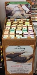 We are pleased to announce placement in our first retail store - David's Natural Market in Columbia, Maryland.  Now you can purchase our products in person or online at www.earthsenrichments.com. #organic #skincare #soap