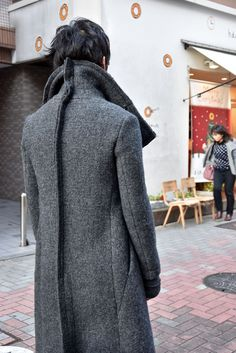 Visions of the Future // deviant blog - nude:masahiko maruyama exclusive HIGH NECK LONG COAT [WOOL DOUBLE…