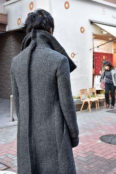 deviant blog - nude:masahiko maruyama exclusive HIGH NECK LONG COAT [WOOL DOUBLE CLOTH]