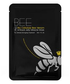 Look at this #zulilyfind! Bee Bio Cellulose Venom & Royal Jelly Miracle Mask - Set of Five #zulilyfinds