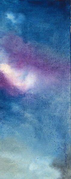 """""""Nebulosa"""" - Aquarela"""