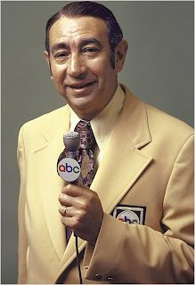 Howard Cosell on-WIDE WORLD OF SPORTS --WAS ON EVER SUNDAYS IN MY HOME YOU KNEW IT WAS SUNDAY BY HOWARD BEING ON