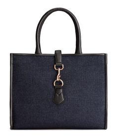 Handtasche aus Denim | Dunkelblau | Damen | H&M DE