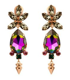 Pink Fall Accessories Trend at #ShopBAZAAR -  Bruno Magli Mawi Drop Earrings