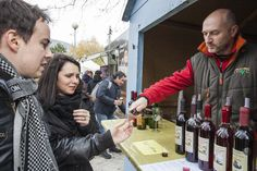 Did you manage to get to the Devín Wine Festival underneath Devín Castle, near Bratislava city during the weekend? It wasn't just wine on offer either: visitors could also peruse a wide assortment of antiques for sale, too. Photos: TASR