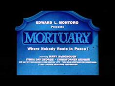 Mortuary Film (1983) Trailer - YouTube