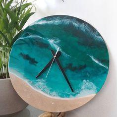 Nikki Phair (@nikki_phair_fine_art) • Instagram photos and videos Surf Style, Surfing, Resin, Clock, Fine Art, Photo And Video, Videos, Wall, Photos