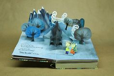 Where should we go - pop-up book by Nate Coonrod.
