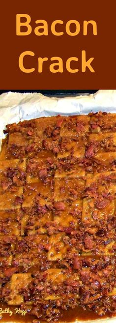 Bacon Crack (A.A Bacon Saltine Cracker Candy) Simply Delicious! Appetizers For Party, Appetizer Recipes, Snack Recipes, Cooking Recipes, Bacon Appetizers, Dessert Recipes, Christmas Appetizers, Healthy Recipes, Bacon Recipes