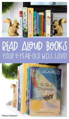 Read aloud books your 9 year old will love, and so will you! Don't waste your time with books that bore you when these fantastic titles are waiting for you to pick them up. Best Books List, Book Lists, Good Books, Book Suggestions, Book Recommendations, Summer Activities, Family Activities, The Mysterious Benedict Society, 9 Year Olds