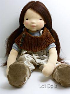 PDF Pattern Wildflower doll by LaliDolls on Etsy